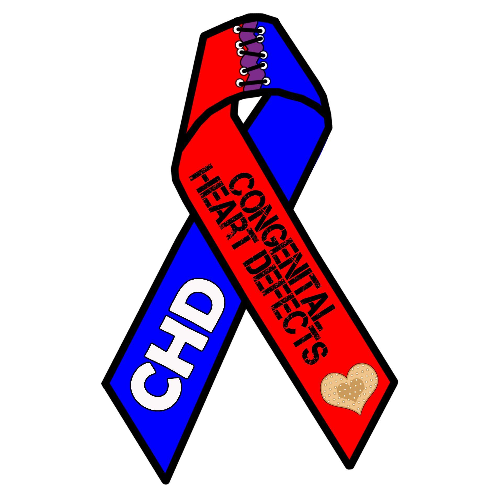 Iheartemilia Chd Awareness Ribbon