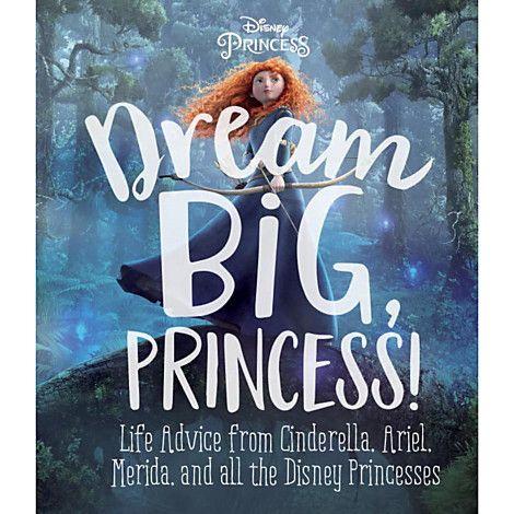 Disney Princess Dream Big Book