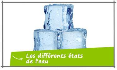 Les diff rents tats de l 39 eau ce2 sciences exp rimentales et technologie savoir comment et en - Comment faire des glaces a l eau ...