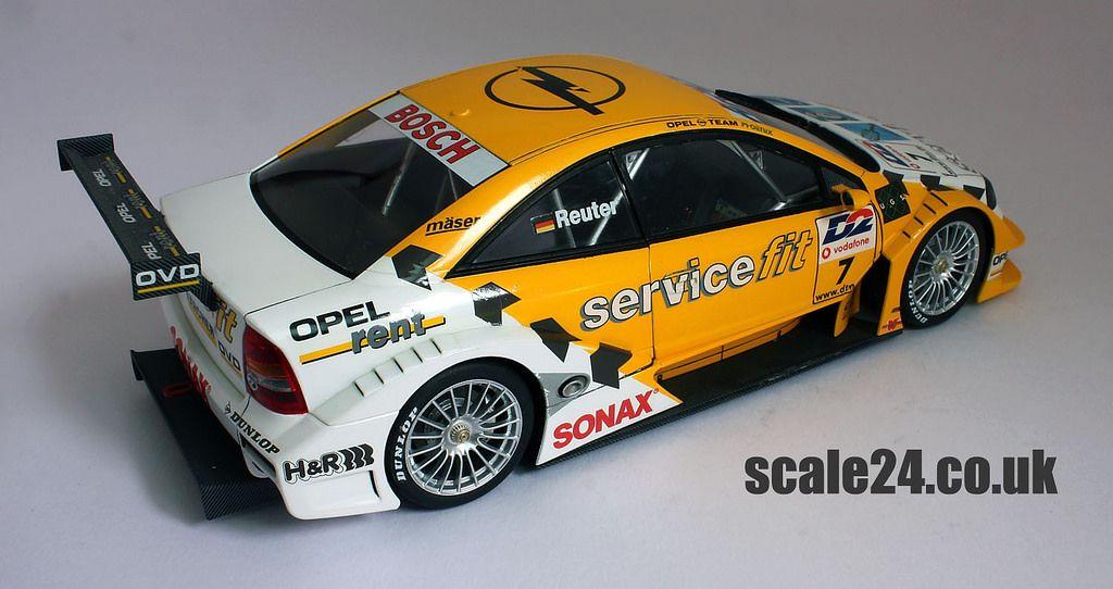 Opel Astra Dtm Servicefit 19 Racing Car Model Car Model Diecast Models