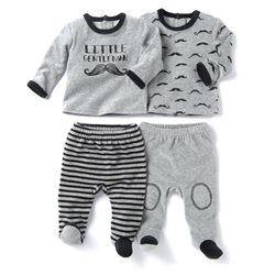 a1268082c198e Pyjama 2 pièces en velours (lot de 2)