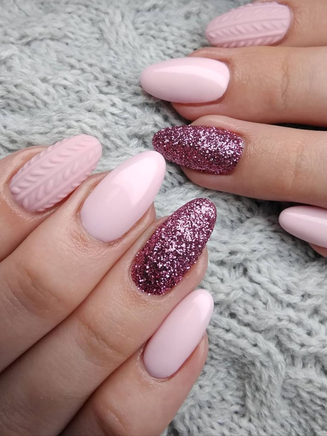 Almond Baby Cute Ideas Nails Pink Cute Baby Pink Almond Nails Ideas In 2019 Gorgeous Baby Pink A Pink Nails Pink Acrylic Nails Shiny Nails Designs