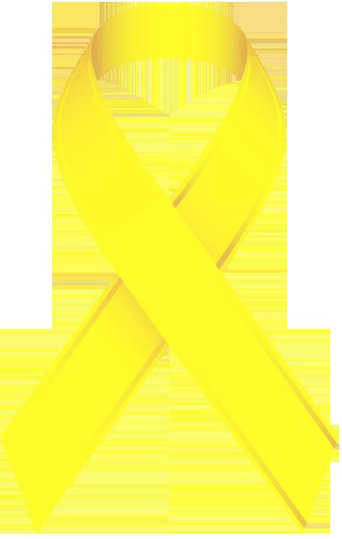 Color Amarillo - Yellow!!! Awareness Ribbons