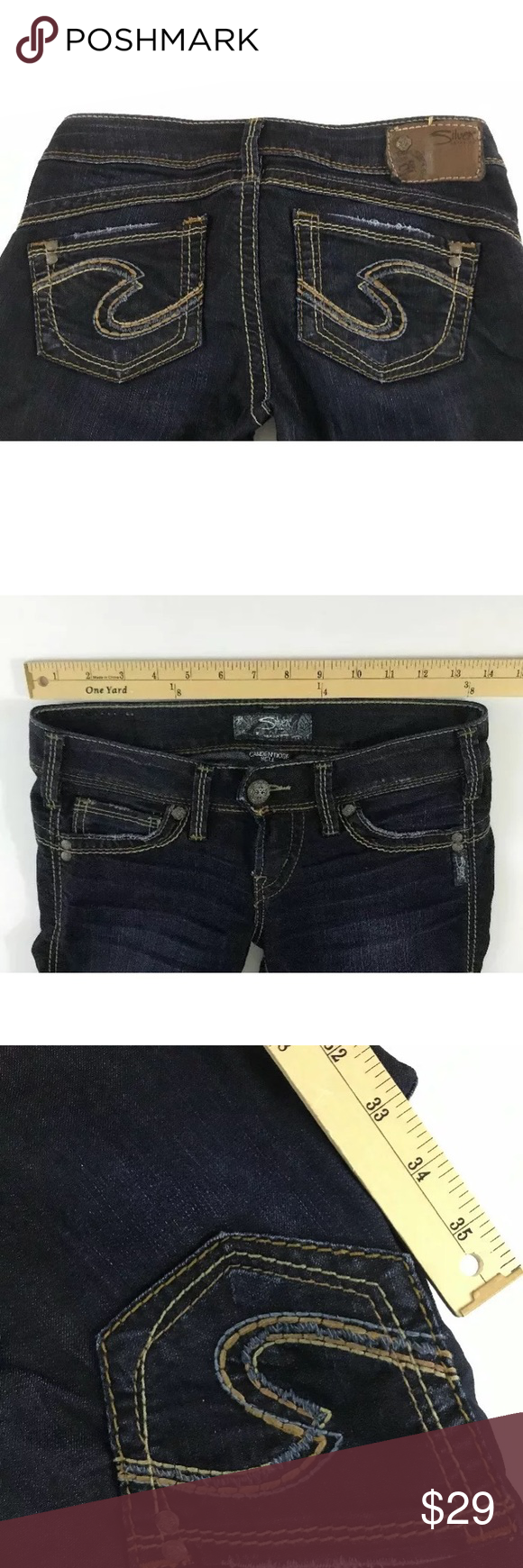 f3977239 Silver Jeans Camden Rose Bell Flare 25x33 Womens Up for your buying  pleasure is a pair