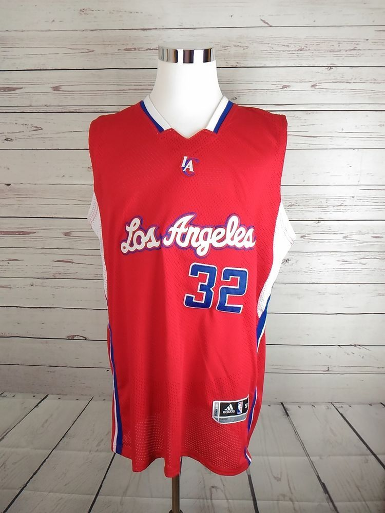 19daf8a3d Adidas Los Angeles Clippers 32 Blake Griffin NBA Jersey Men s Size 50  Stitched  adidas