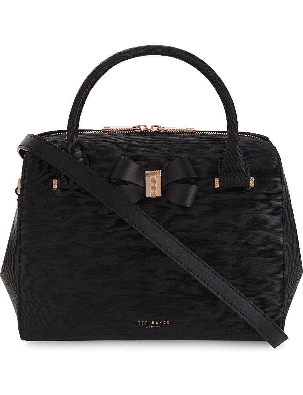 17f46388f TED BAKER Cacia leather bowler bag
