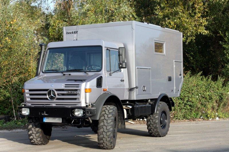 Dakar 600 bocklet unimog camper recreational vehicles for Mercedes benz recreational vehicles