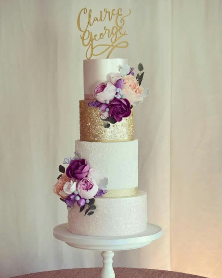 Lustre Gold Brush Embroidery Sequins Roses Peonies Gold Wedding