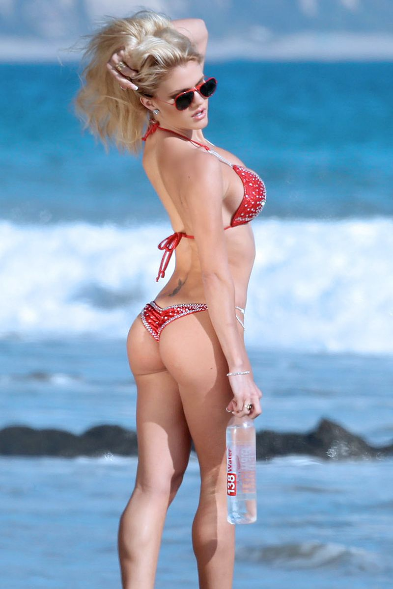 Marissa Everhart Tiny Bikini Water Show, When You're Hot, You're Hot - Click Play in Slide Show to Reveal Hidden Pinterest Pictures