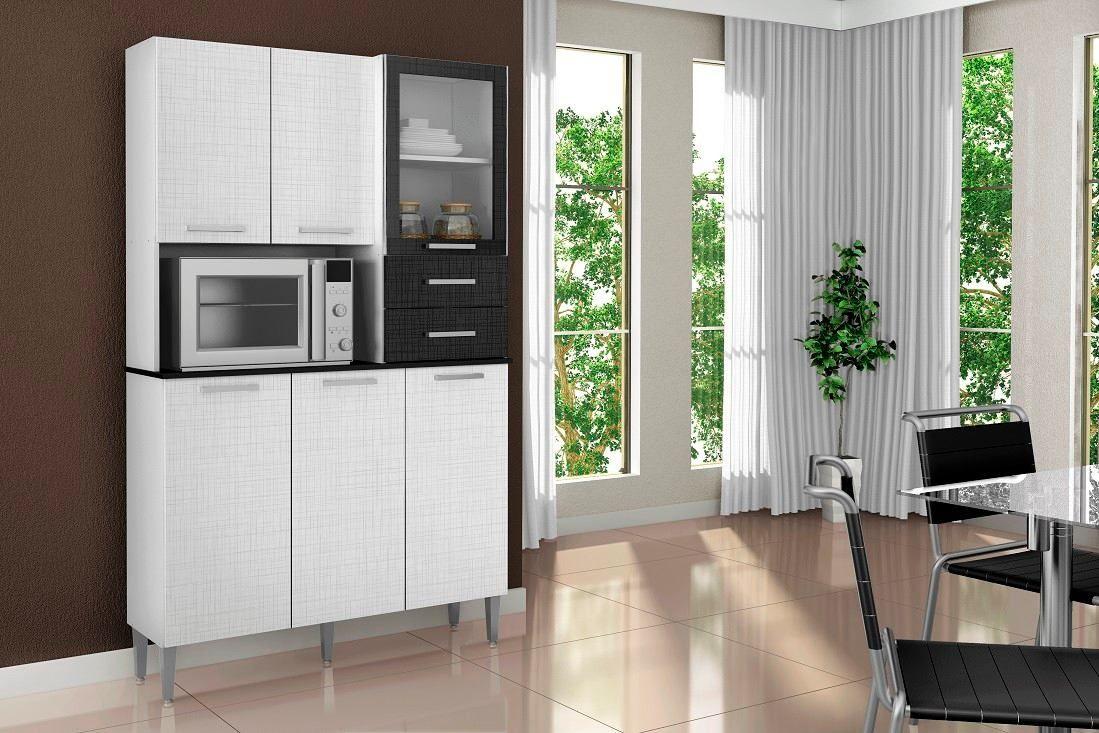 mueble de cocina alacena armario aspen 6 puertas 2 cajones | MUEBLES ...