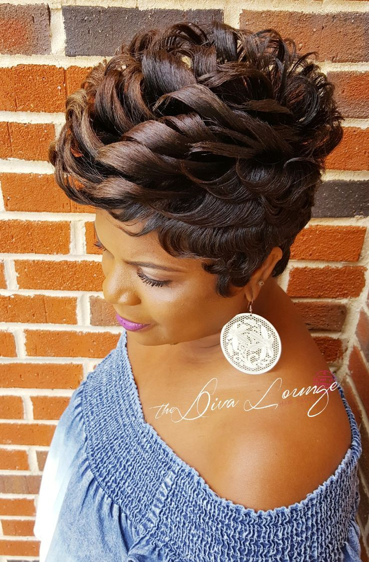 Awesome short hair on in black girls hairstyles