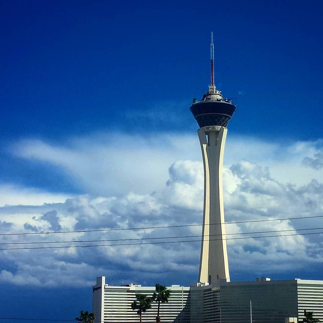The storm and clouds have passed. Look the Stratosphere made it. LOL #lasvegas #Nevada #workday #work #storm #realestate #homesearch