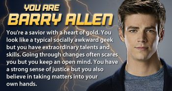 The Flash Personality Quiz Which The Flash Character Are You