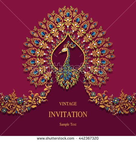Wedding Invitation Or Card With Abstract Background Islam Arabic In Indian Wedding Invitation Cards Hindu Wedding Invitation Cards Hindu Wedding Invitations
