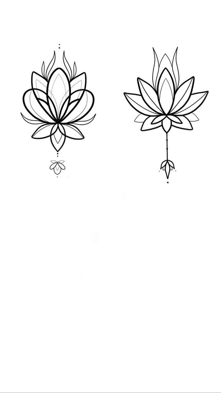 Pin By Alisha On Lotus Small Lotus Tattoo Chest Tattoos For Women Tattoo Graphic
