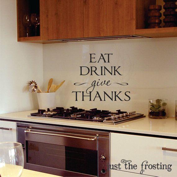 kitchen or dining wall decals kitchen vinyljustthefrosting