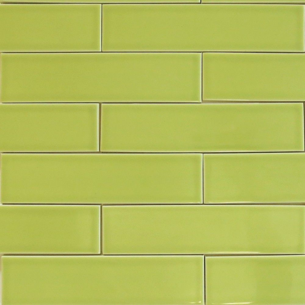 Kiln american made 2x8 ceramic subway tile in pear green by kiln american made 2x8 ceramic subway tile in pear green by modwalls doublecrazyfo Choice Image