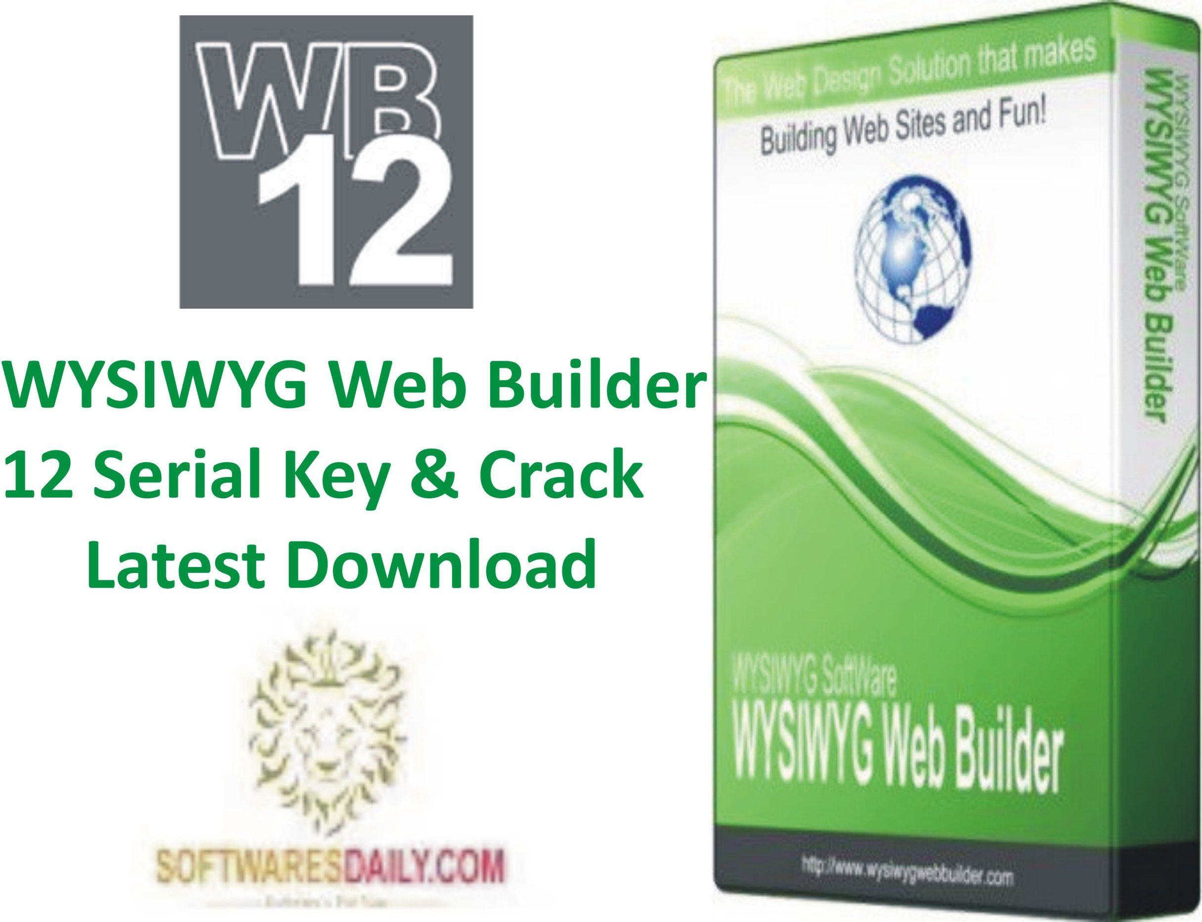 wysiwyg web builder 12 download