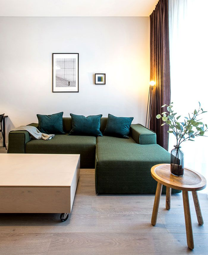 37 qm Wohnung mit einem gemütlichen Gefühl und viel