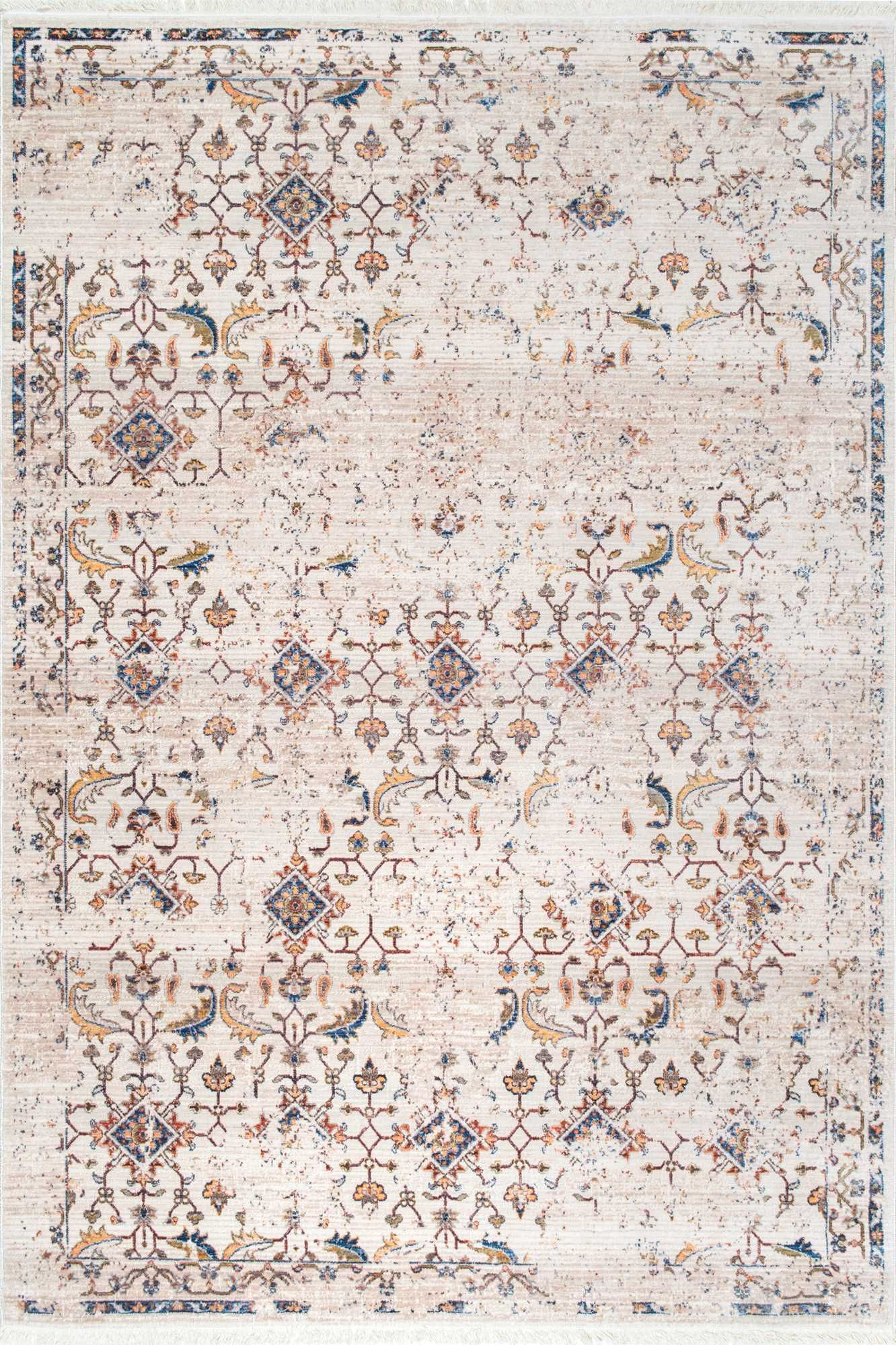 Vintage beauty this is rugs usa 39 s edessa mc05 faded dendrite fringe rug studio alfombras - Alfombras contemporaneas ...