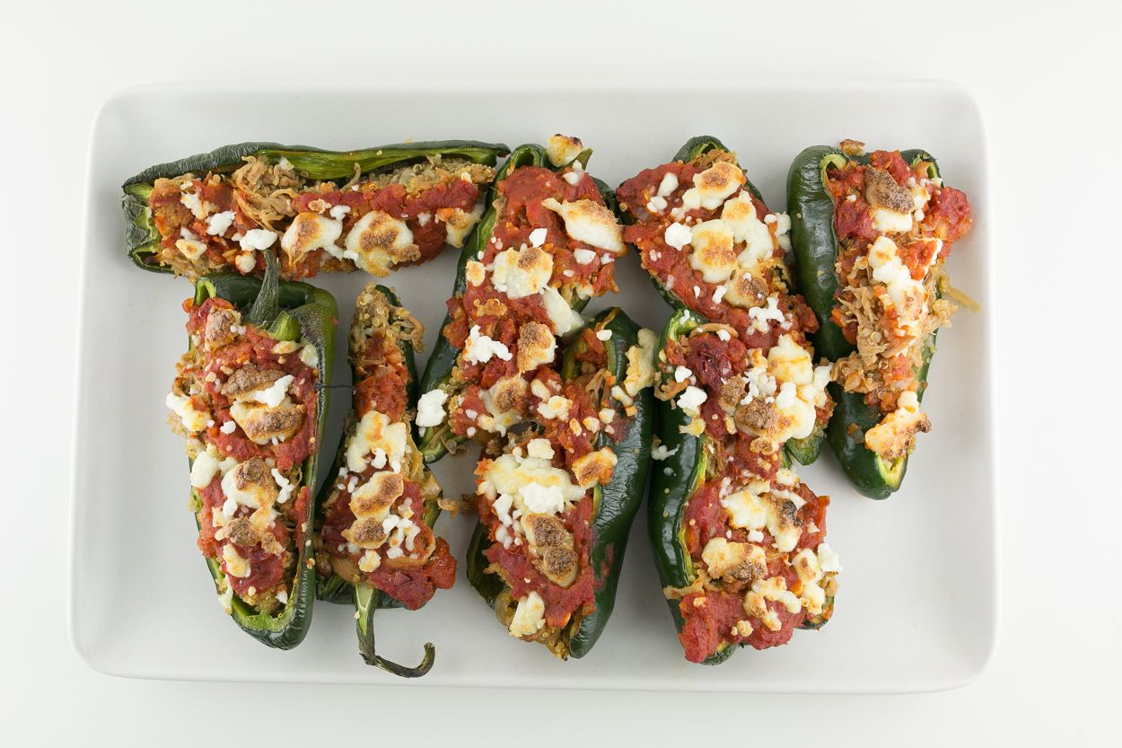 Batterless Chile Rellenos - Cook Smarts