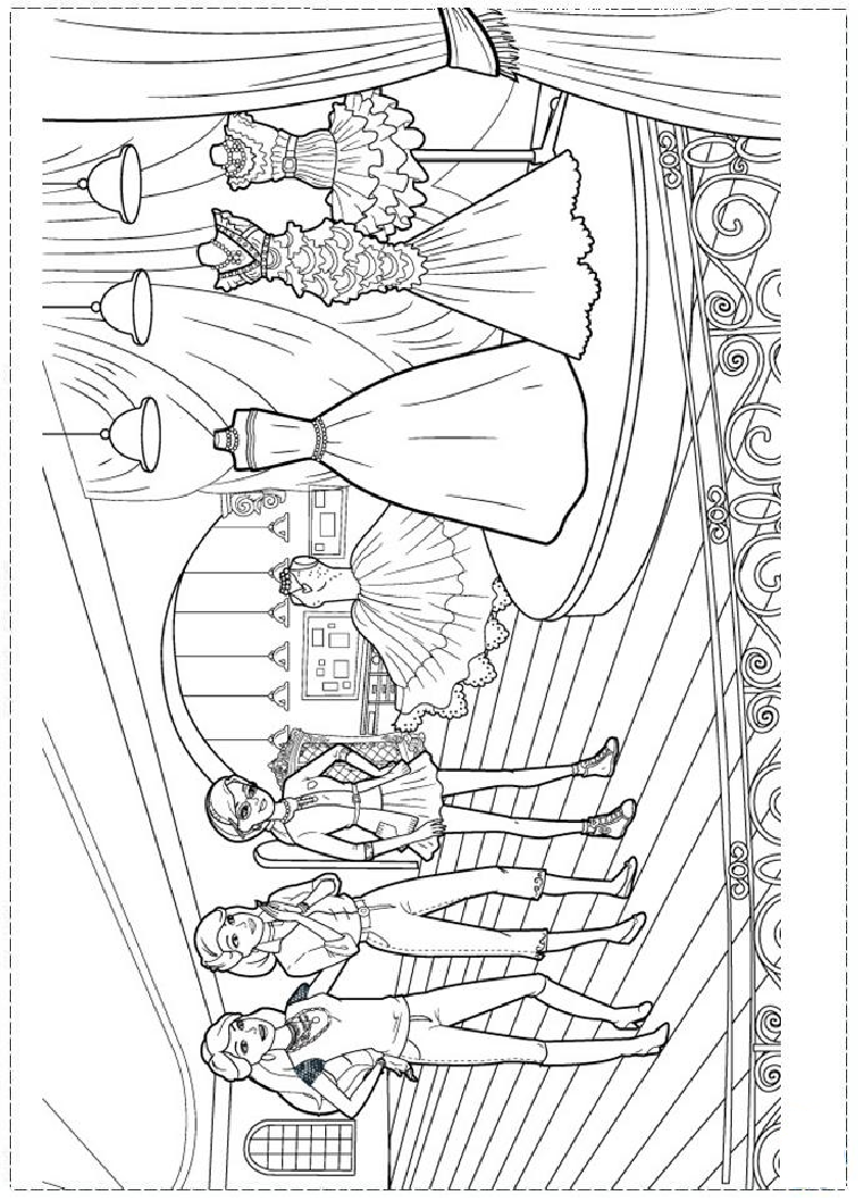 Barbie Fashion Coloring Page Coloring Pages Barbie Coloring Pages Barbie Coloring