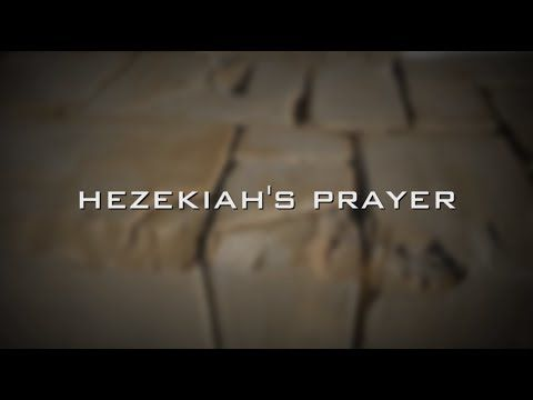 24 Hours until Hezekiah's Prayer at the Wall