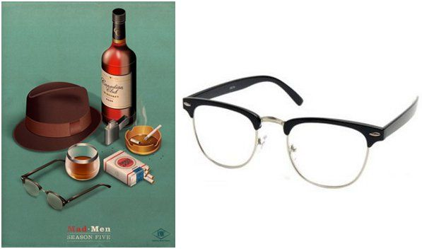 Mad Men Accessories don draper glasses for the dapper gentleman | 40+ style & fashion