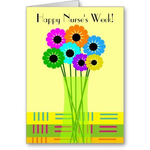 Happy nurses week card floral httpzazzle happy nurses week card floral m4hsunfo