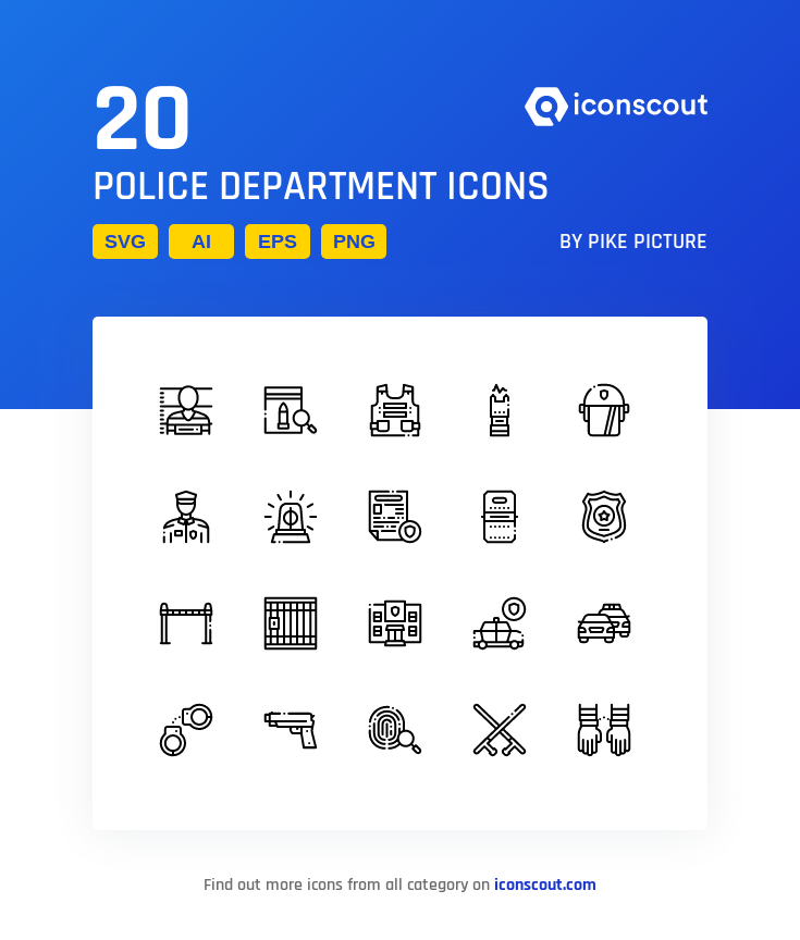 Download Police Department Icon Pack Available In Svg Png Eps Ai Icon Fonts Icon Pack Icon Water Treatment
