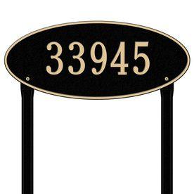 Whitehall 10.375-In X 24.5-In Plaque 4011Bg