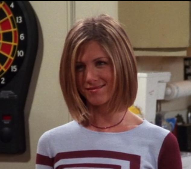 Haircut Rachael Green Friends Season 7 Jennifer Aniston Short Hair Jennifer Aniston Hair Friends Hair Styles