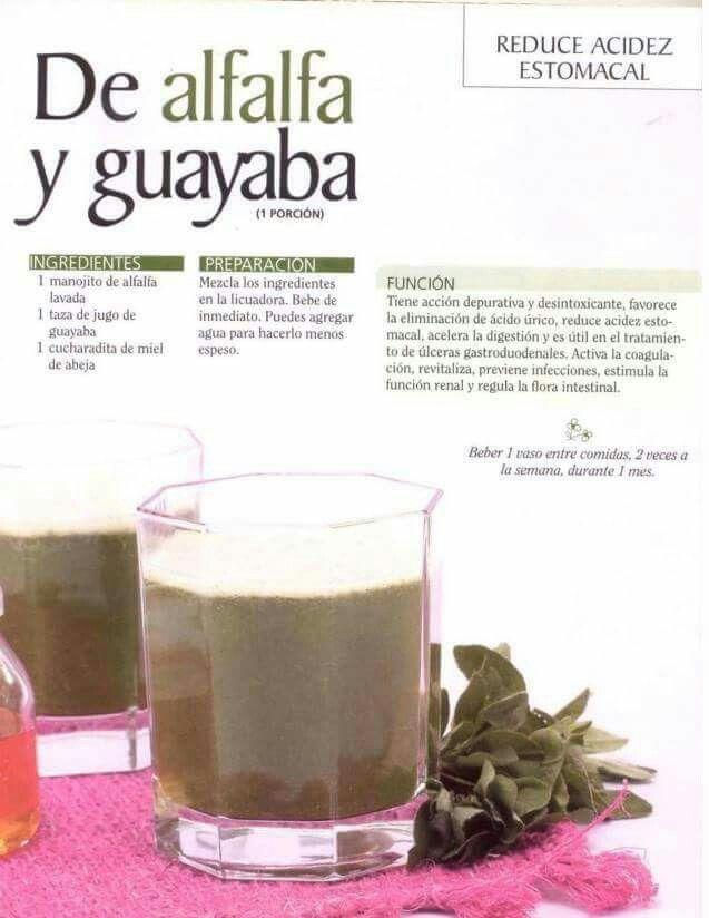 alfalfa en los jugos