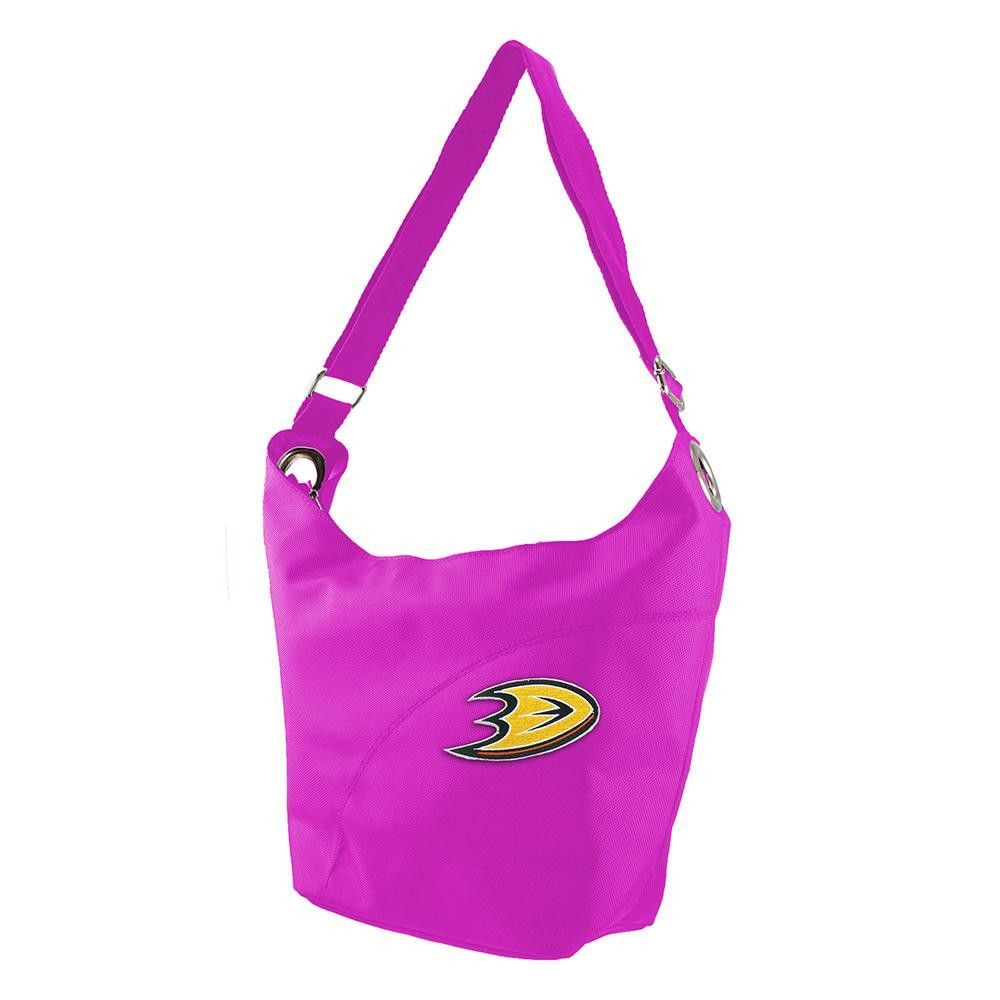 Anaheim Ducks NHL Color Sheen Hobo (Pink)