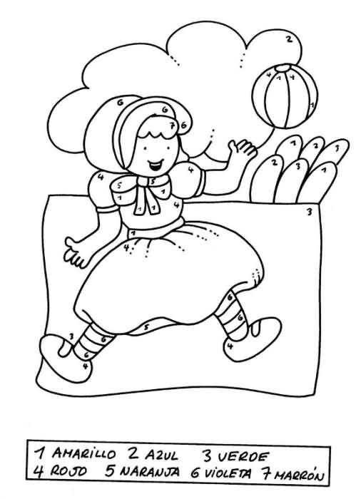 Lernübungen für kinder zu drucken. Farb-Bereich angezeigt 30 ...