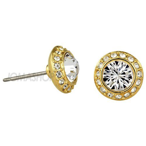 Swarovski Angelic Pierced Earrings Goldplated Read More At The Image Link This Is