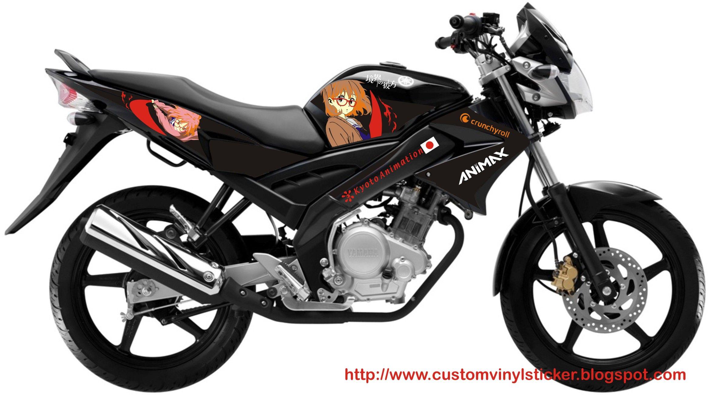 Yamaha bike sticker designs - Yamaha V Ixion Anime Sticker Mirai Kuriyama