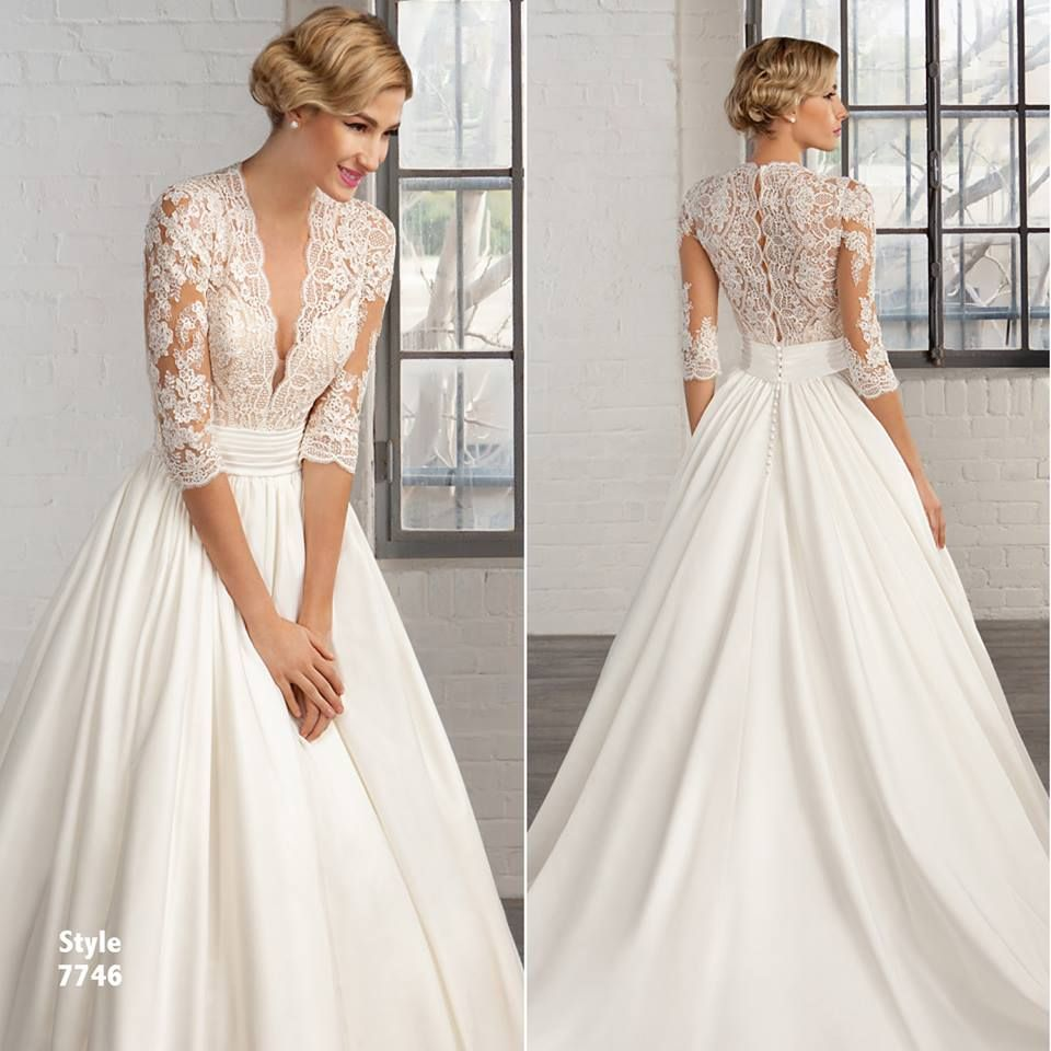The 25 Most Pinned Wedding Dresses Of 2016: Cosmobella 2016 Collection, Style 7746