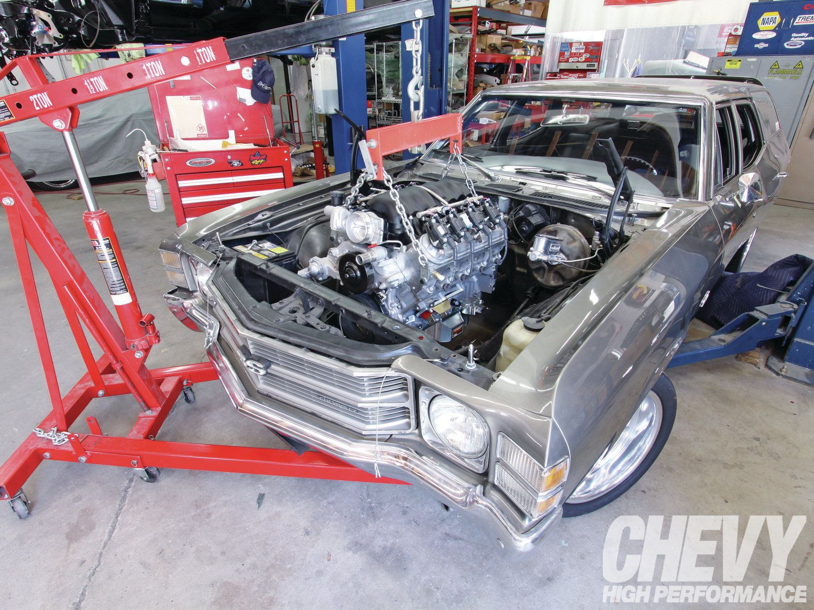 An ls swap can infuse new life into classic muscle