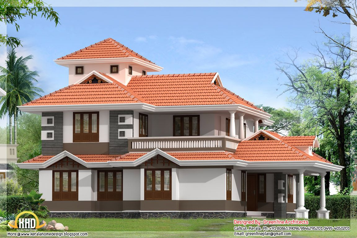 House · Bedroom Sq Ft Kerala Home Design House Design Plans ...