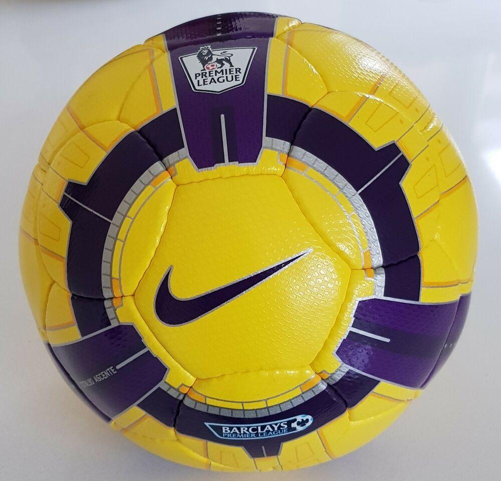 Brand New Nike Merlin Premier League Official Match Ball Size 5 Ball Premier League Soccer Balls