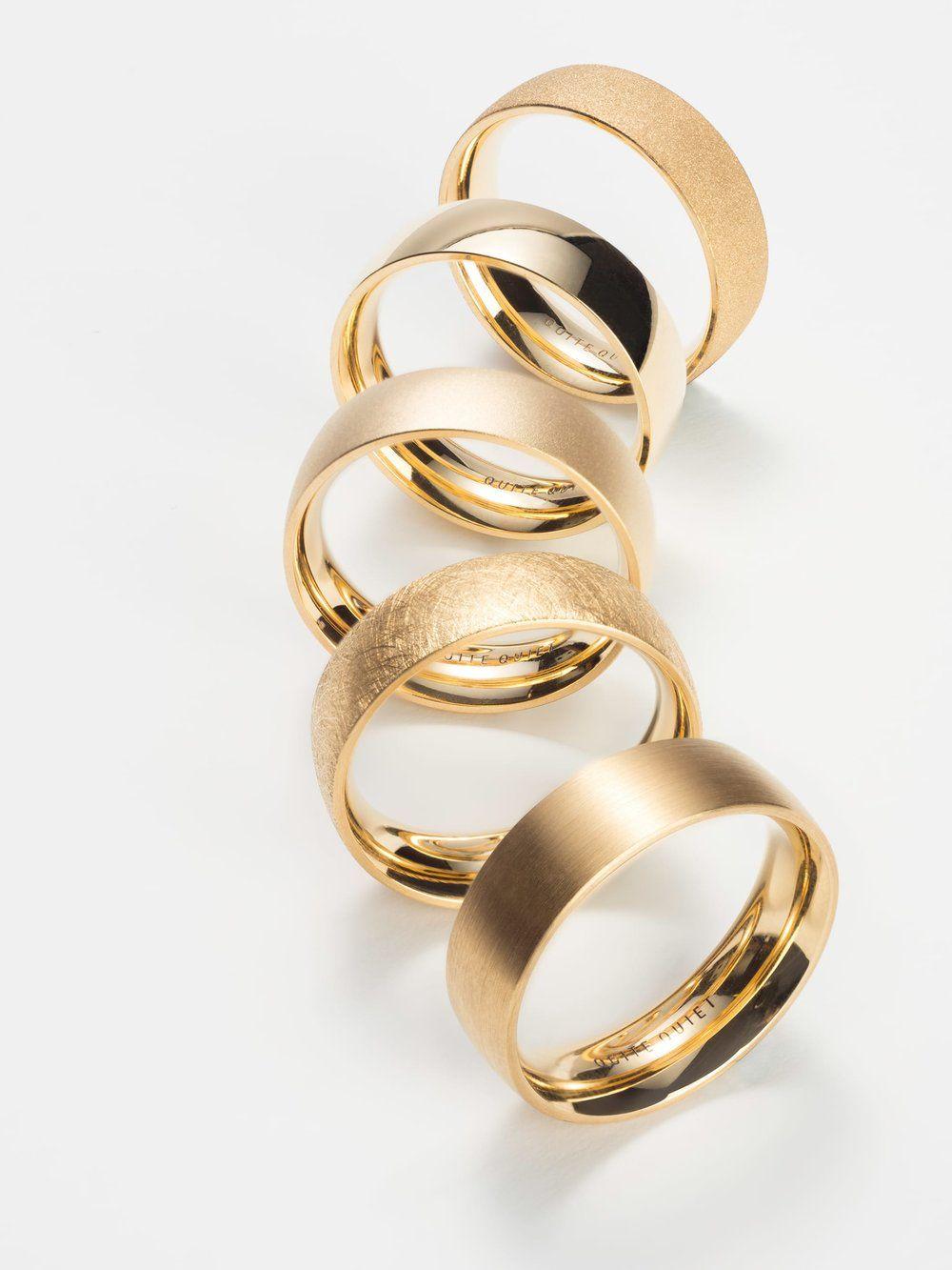 Eheringe in Fairtrade Gold — Quite Quiet Jewelry  Wedding rings