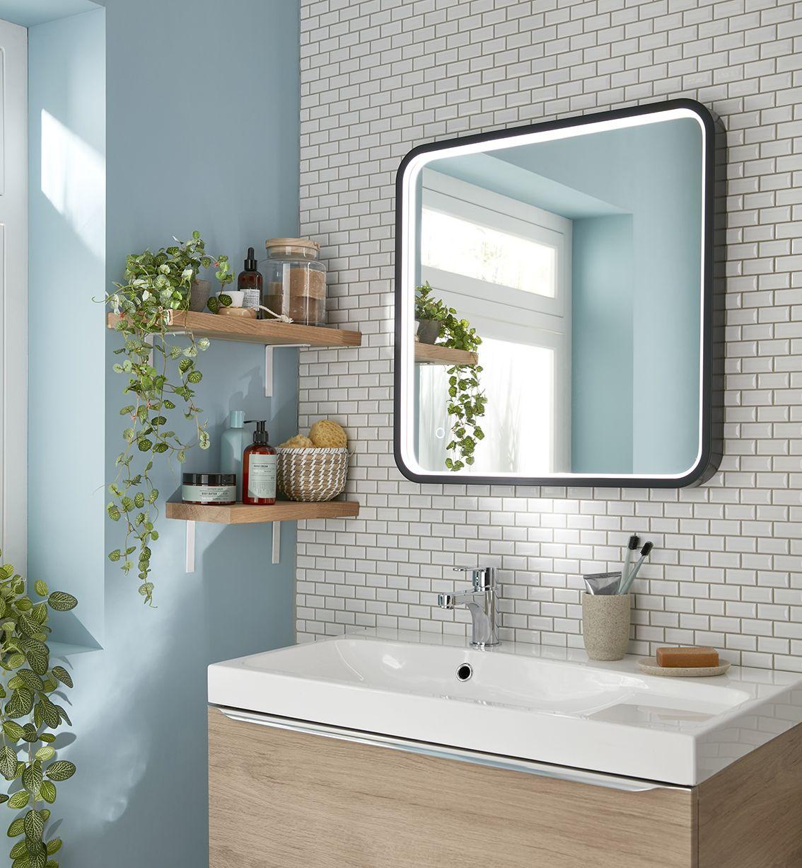 Perfect Miroir Salle De Bain Led Castorama