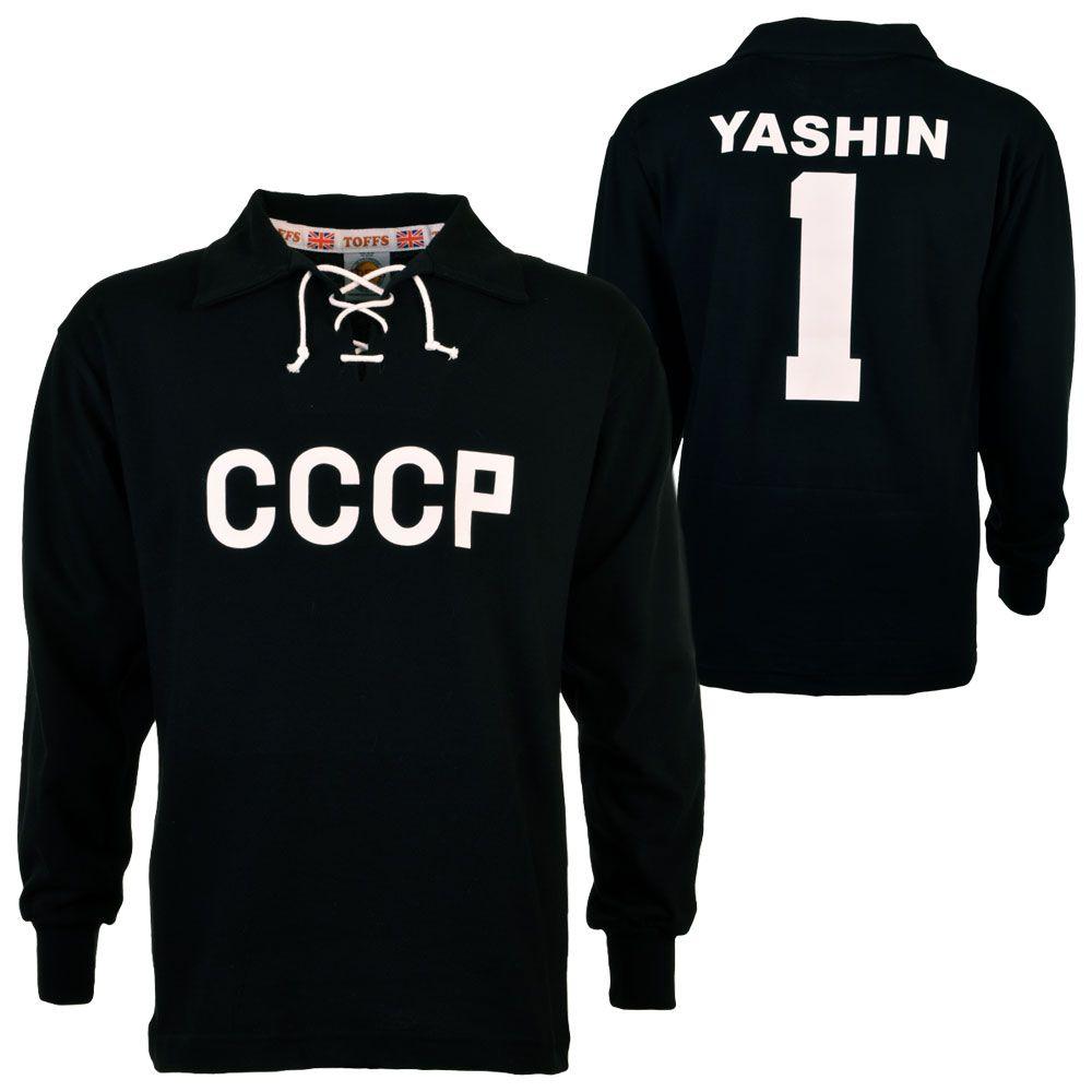 f50c6e443a0 CCCP Lev Yashin 1 Retro Football Shirt | movies | Goalkeeper shirts ...