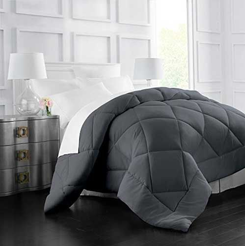 Charming 2.best Comforters For Hot Sleepers: Egyptian Luxury Goose Down Alternative  Comforter   All