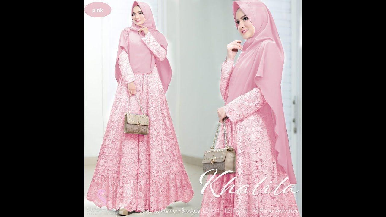 Dress Muslim 10  Wanita, Model, Kecantikan