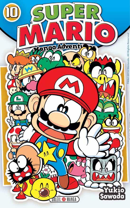 Vol 10 Super Mario Manga Adventures Manga Super Mario Mario Image Mario