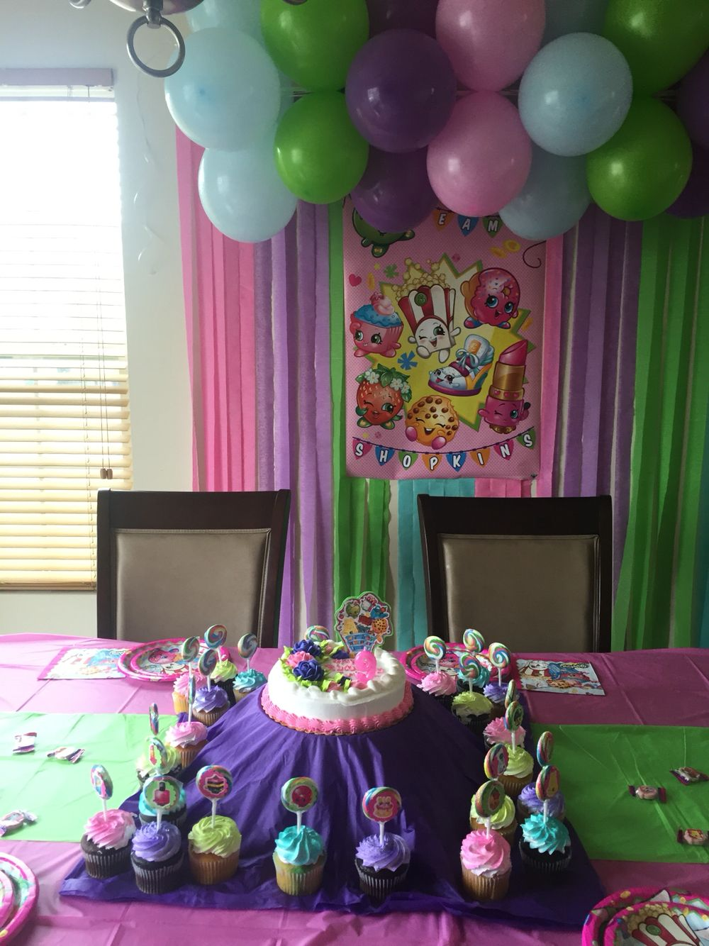 Shopkins Party Decorations 9th Birthday