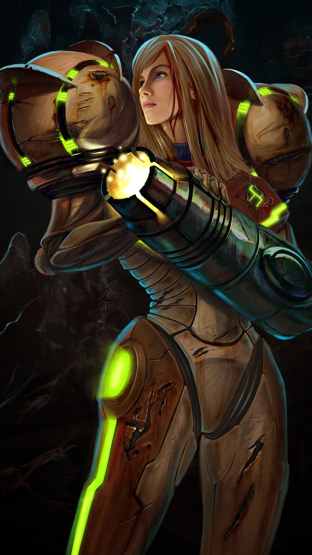 Samus Aran Mobile Wallpaper Metroid Samus Personajes De Videojuegos Personajes Animados