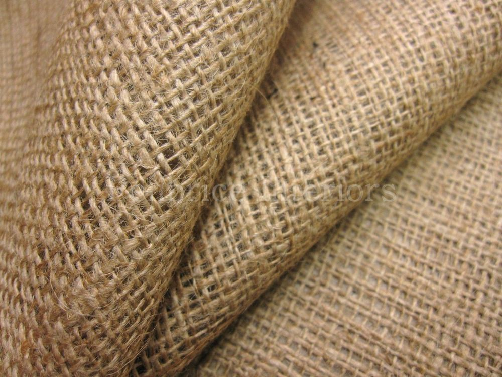 """HESSIAN FABRIC 40/"""" 10 OZ 1 METER UPHOLSTERY SUPPLIES"""